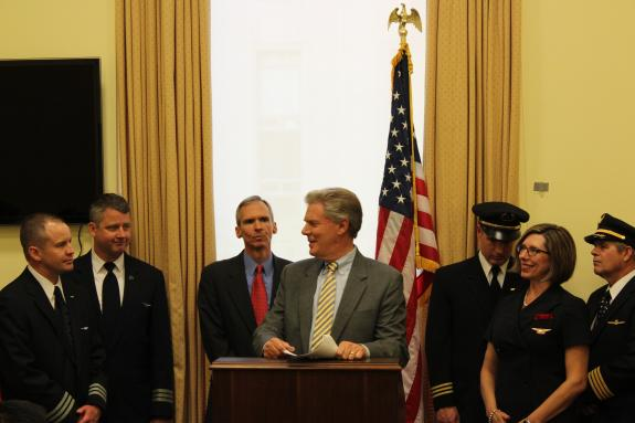 Pallone and Colleagues Lead Letter In Opposition to Abuse of Open Skies Agreement