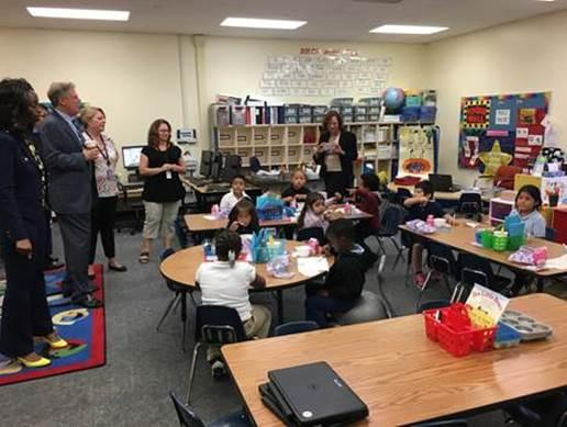 Pallone Highlights Importance of School Breakfast Programs
