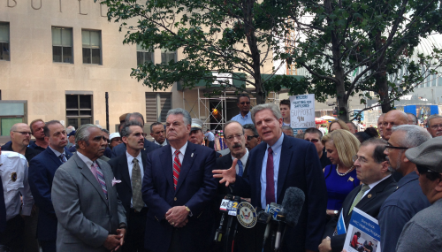 Pallone calls for reauthorization of Zadroga 9/11 Health and Compensation Act at Ground Zero  feature image