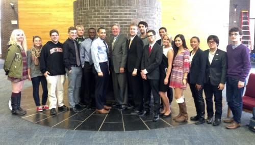 Pallone Meets with Rutgers Students to Discuss Making College More Affordable  feature image