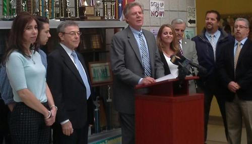 Pallone Urges NCAA & Youth Football Leagues to Prevent & Mitigate Repetitive Brain Trauma feature image
