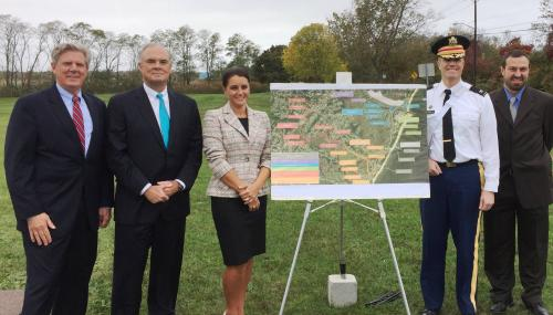 Pallone, Army Corps and DEP Announce Beginning of Construction for Phase II of $105 million project for Port Monmouth feature image